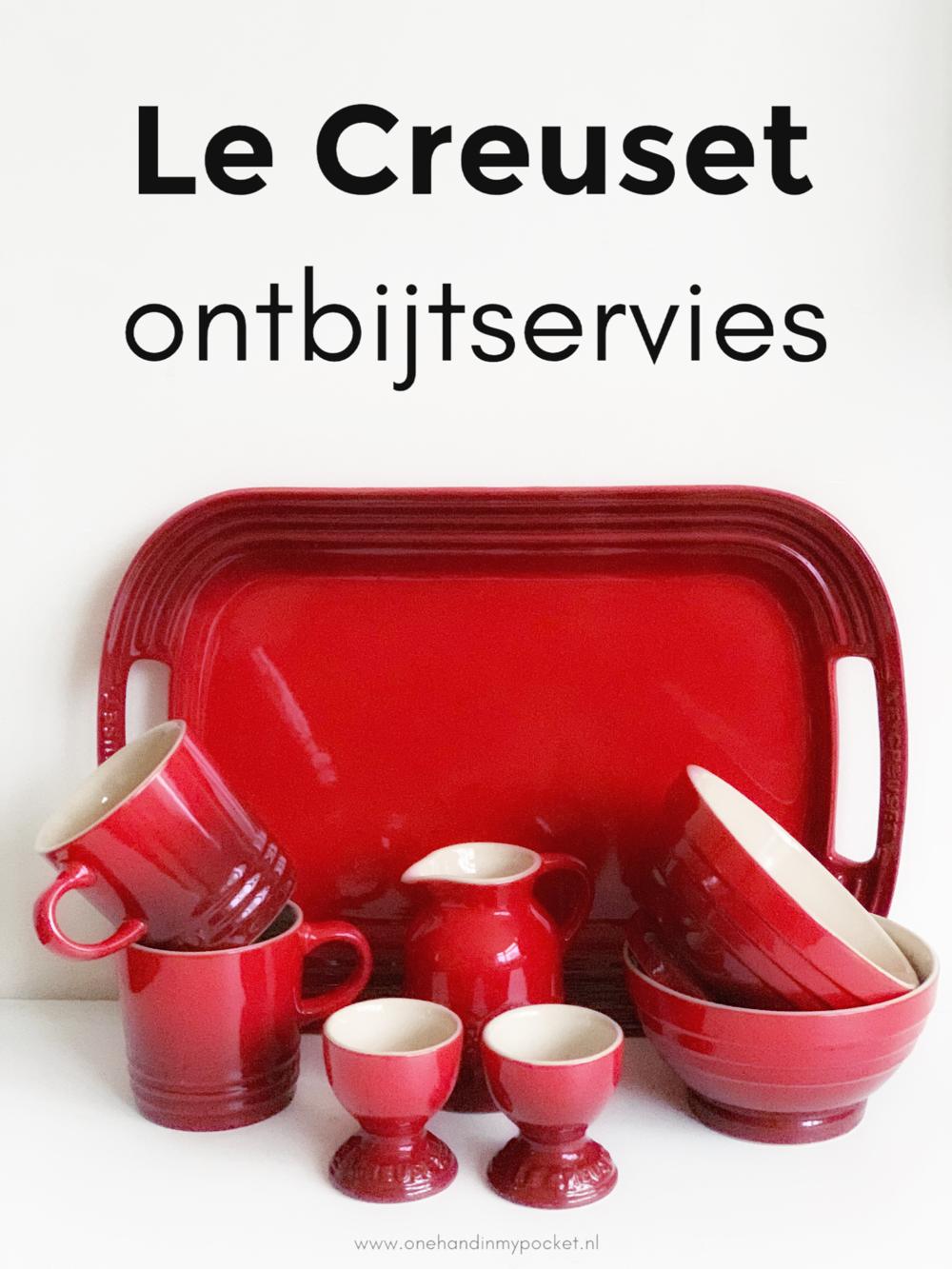 ontbijtservies van Le Creuset
