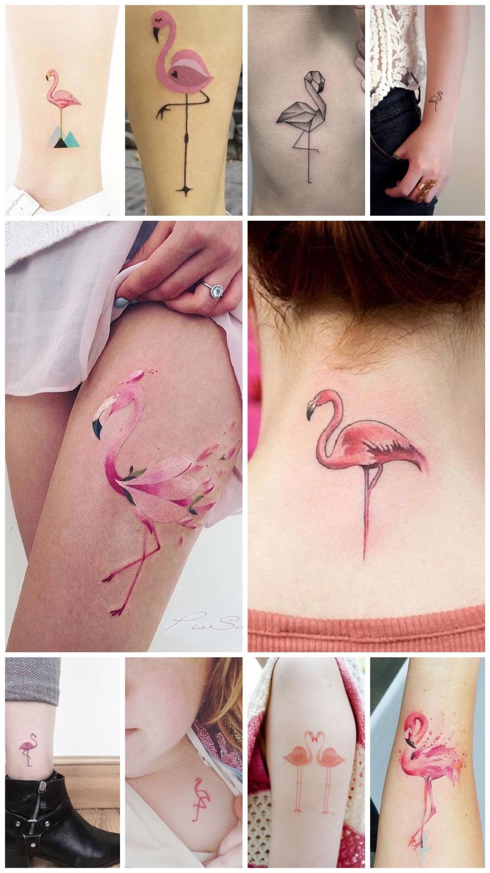 Flamingo tattoo inspiration blog