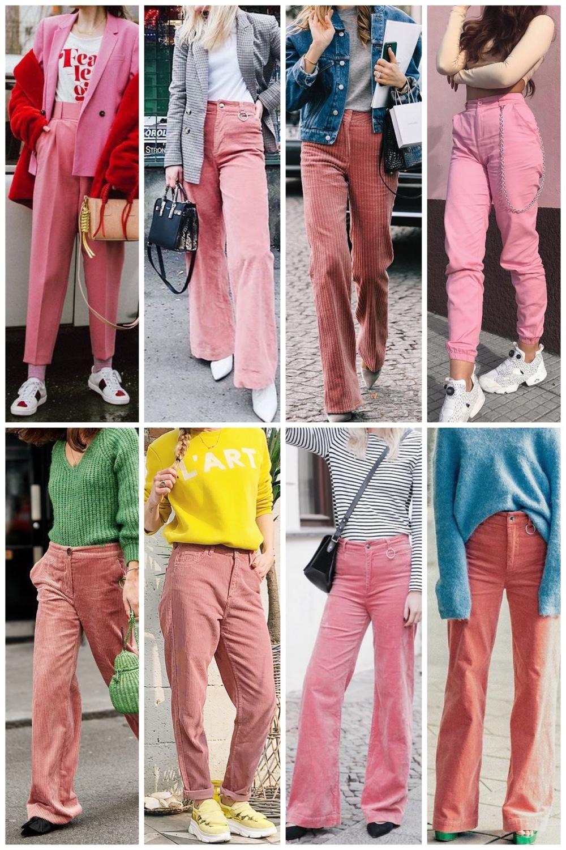 roze broeken inspiratie