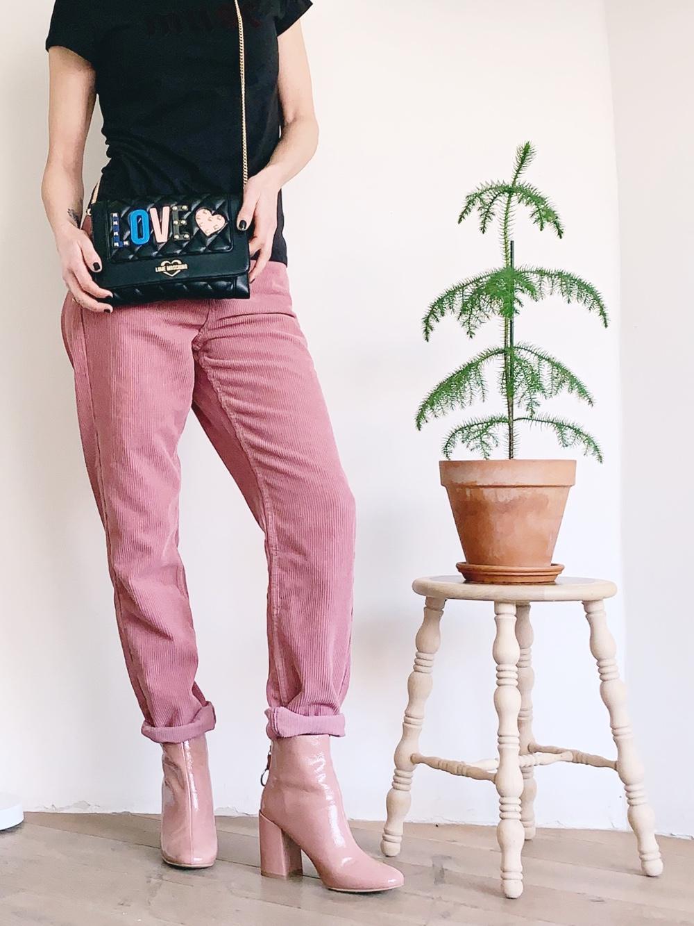 fashionpost: pink trousers inspiration