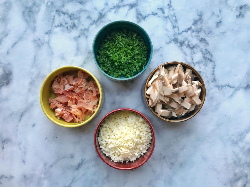 omelet uit de slowcooker ingredienten