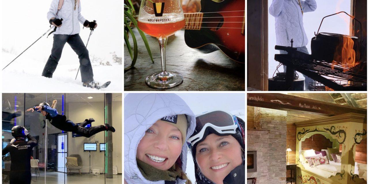 Dag 3 in Noorwegen: snowshoe hike en de windtunnel in Voss