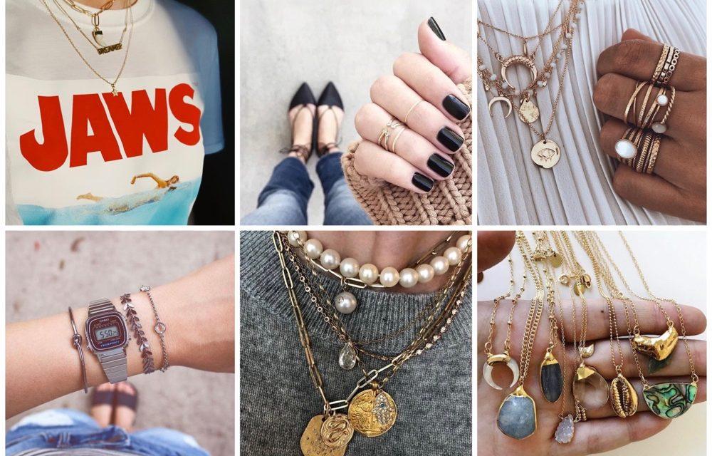 "Fashionpost 54: 5x de nieuwste sieraden trends (""layering"")"