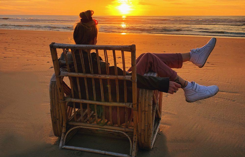 15x een prachtige zonsondergang bij het strandhuisje (2019)