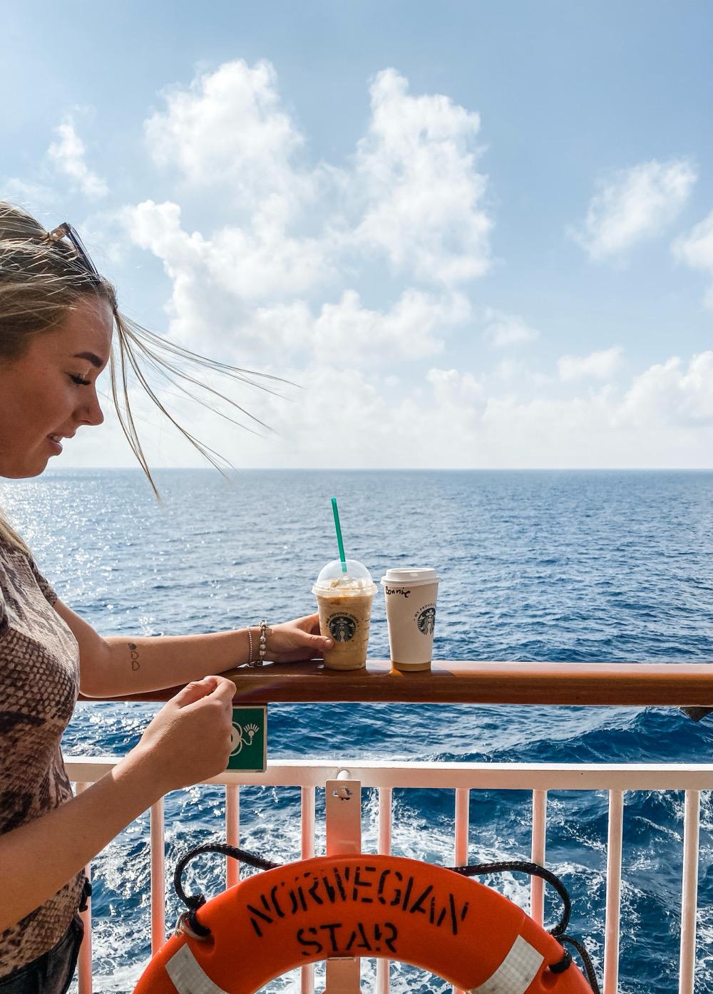 Starbucks cruise NCL