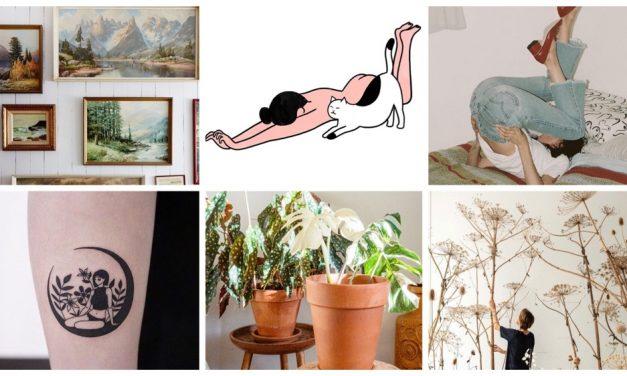 Weekend Finds 23 | Albino Monstera, retro gallery wall en meer…