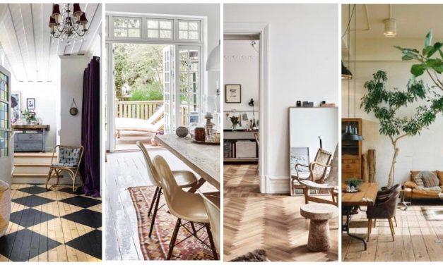 Mooie houten vloeren inspiratie