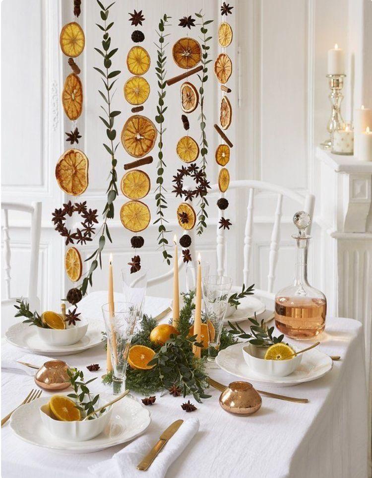 gedroogde sinaasappelschillen