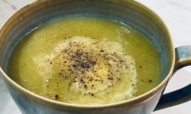 Recept | courgettesoep uit de slowcooker